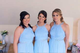 Hair and Makeup bridesmaids
